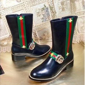 Gucci GG Lady's Tall Winter Boots
